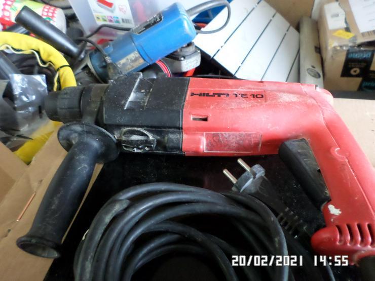 Top Hilti TE 10 Elektro Bohrhammer Super in Schuss
