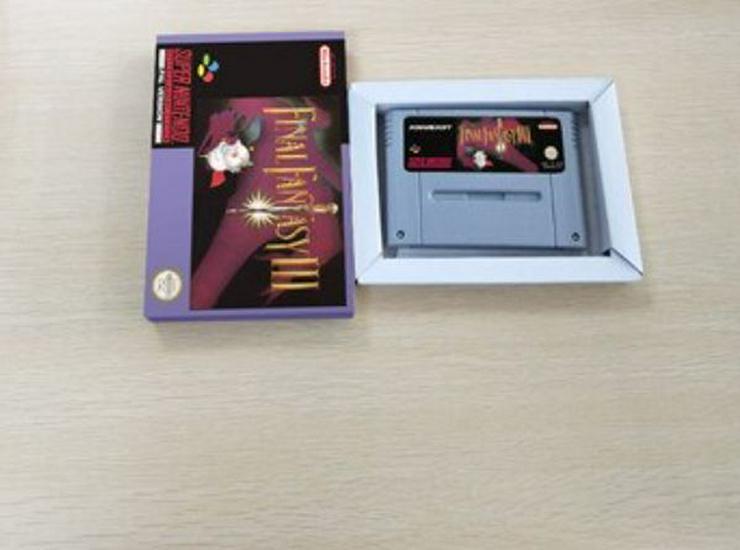 Final Fantasy 3 Mega Man X Secret of Evermore für Super Nintendo