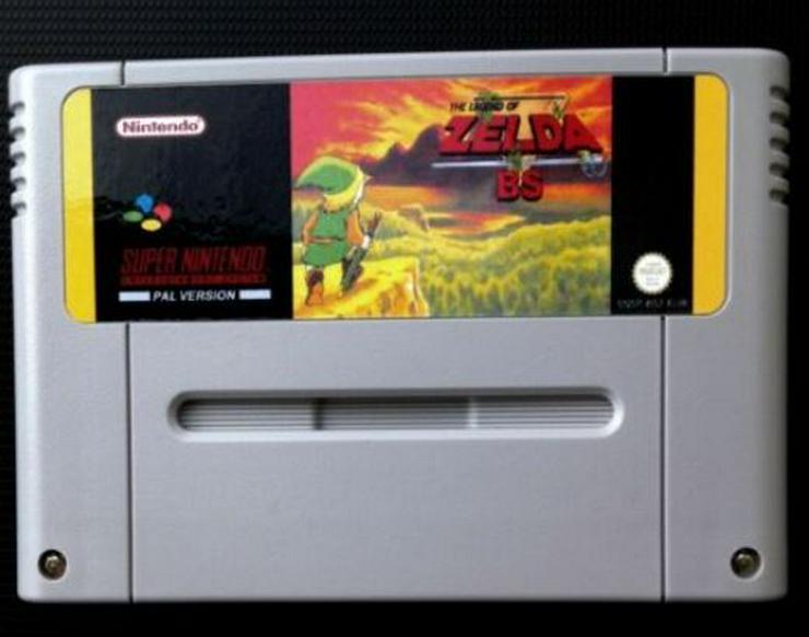 Bild 6: Zelda BS Mario All Stars Chrono Trigger Secret of Mana 1 / 2 SNES