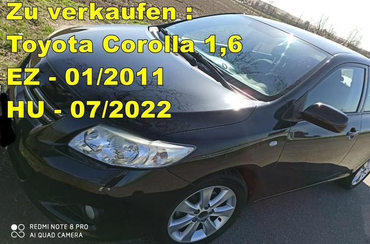 Toyota Toyota Corolla Klima* Sitzheizung* ALU*TÜV* - Corolla - Bild 1