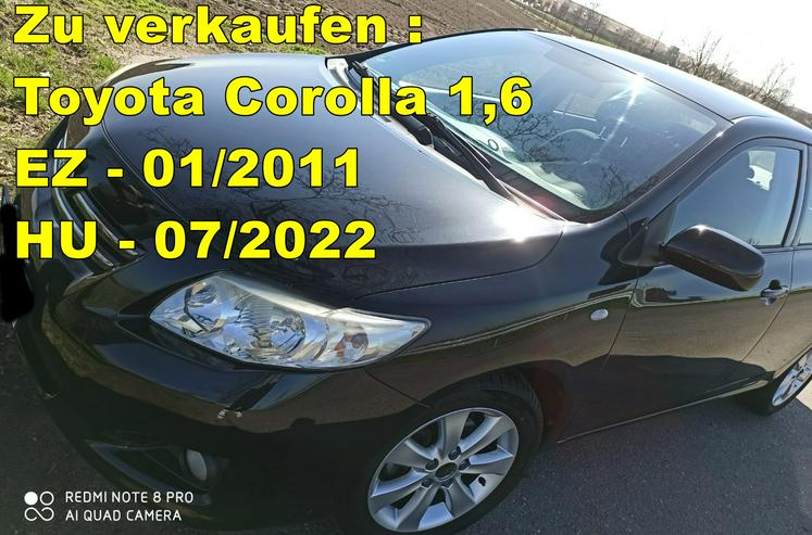 Toyota Toyota Corolla Klima* Sitzheizung* ALU*TÜV*