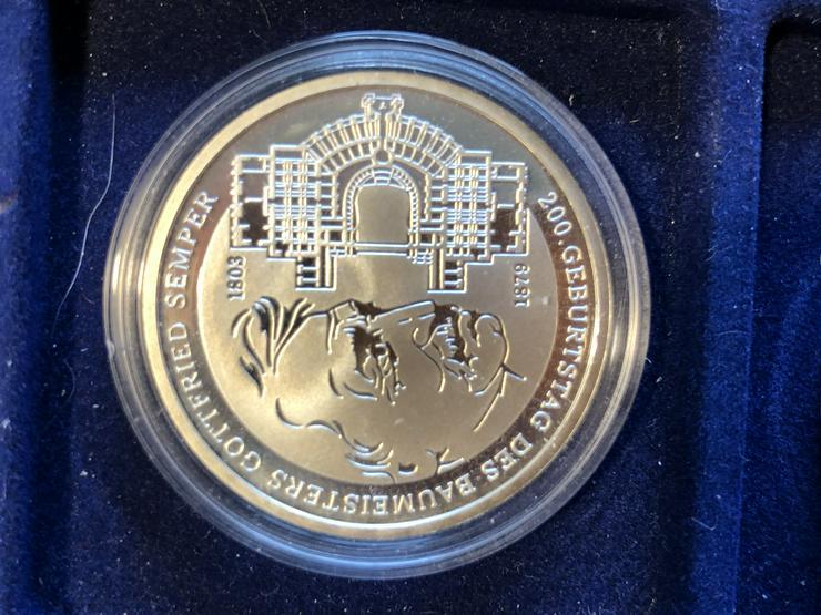 Bild 6: 10 Euro-Gedenkmünzen BRD 2003 (Komplettsatz) in Spiegelglanz (PP)