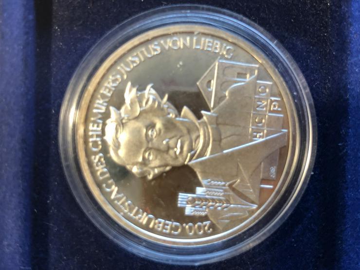 Bild 2: 10 Euro-Gedenkmünzen BRD 2003 (Komplettsatz) in Spiegelglanz (PP)