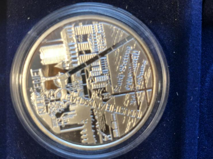 Bild 5: 10 Euro-Gedenkmünzen BRD 2003 (Komplettsatz) in Spiegelglanz (PP)