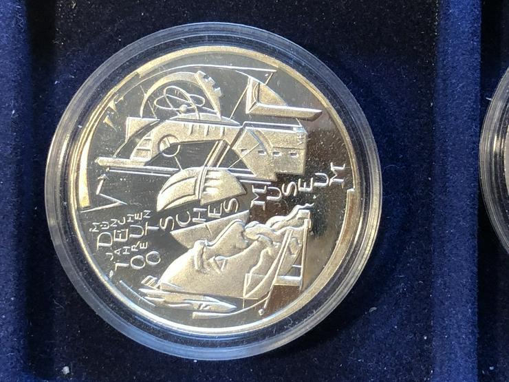 10 Euro-Gedenkmünzen BRD 2003 (Komplettsatz) in Spiegelglanz (PP) - Euros - Bild 1