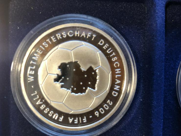 Bild 3: 10 Euro-Gedenkmünzen BRD 2003 (Komplettsatz) in Spiegelglanz (PP)