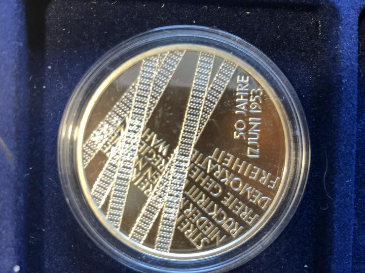 Bild 4: 10 Euro-Gedenkmünzen BRD 2003 (Komplettsatz) in Spiegelglanz (PP)