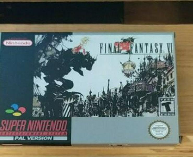 Bild 5: POCKY Rocky 2 Castlevania Vampire Kiss Final Fantasy  6 FÜR SNES