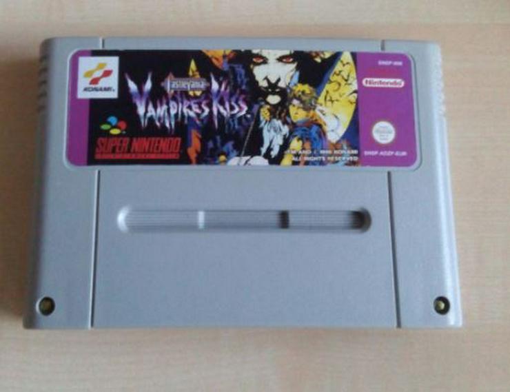 Bild 3: POCKY Rocky 2 Castlevania Vampire Kiss Final Fantasy  6 FÜR SNES