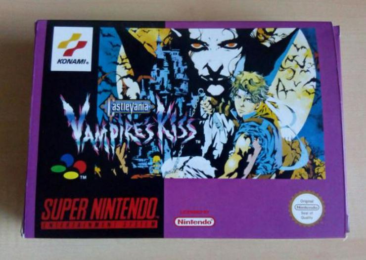POCKY Rocky 2 Castlevania Vampire Kiss Final Fantasy  6 FÜR SNES - Weitere Games - Bild 1