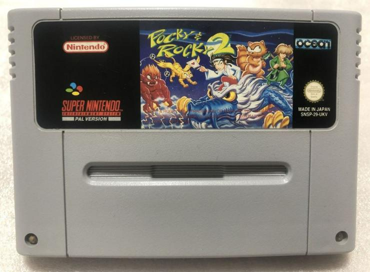 Bild 2: POCKY Rocky 2 Castlevania Vampire Kiss Final Fantasy  6 FÜR SNES