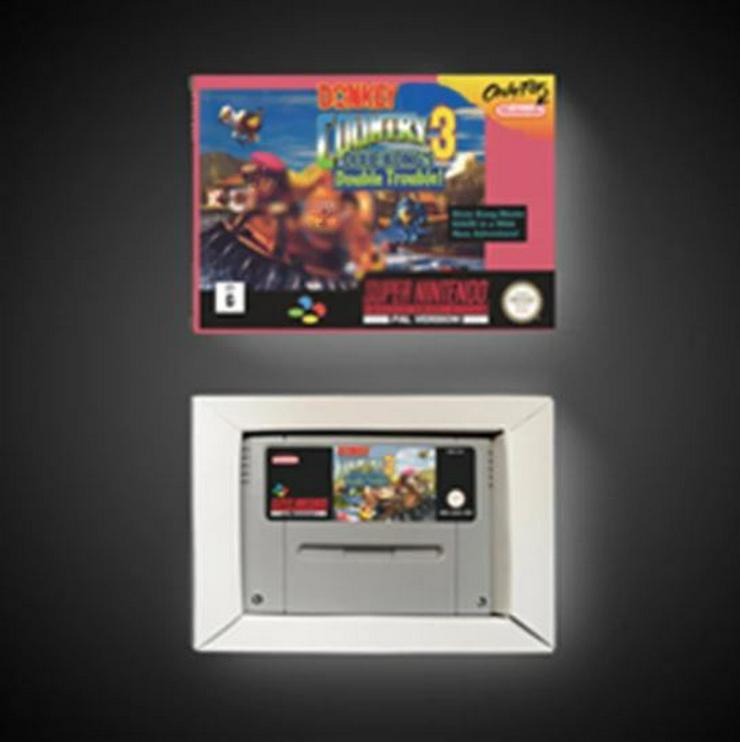 Bild 5: Battletoads Double Dragon Donkey Kong 1 2 3 für Super Nintendo