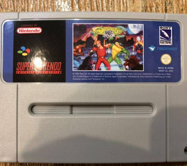 Bild 6: Battletoads Double Dragon Donkey Kong 1 2 3 für Super Nintendo