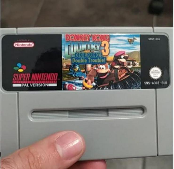Bild 2: Battletoads Double Dragon Donkey Kong 1 2 3 für Super Nintendo