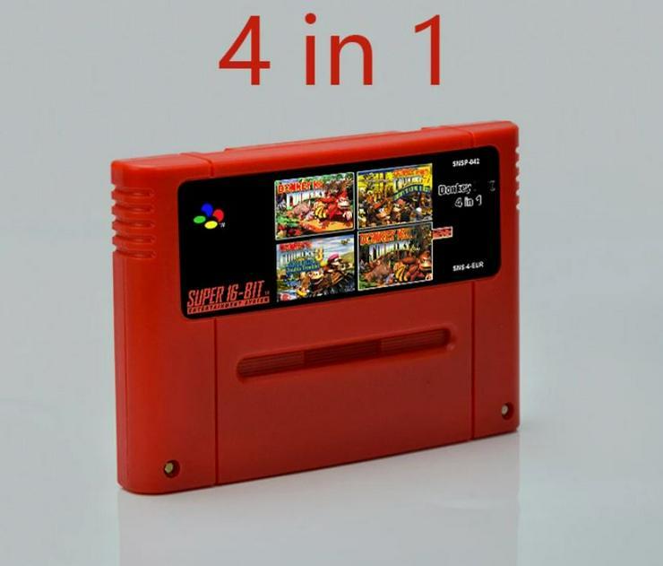 Bild 3: Battletoads Double Dragon Donkey Kong 1 2 3 für Super Nintendo