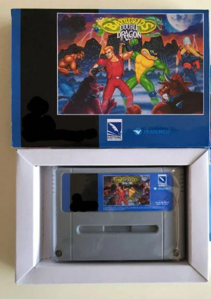 Bild 4: Battletoads Double Dragon Donkey Kong 1 2 3 für Super Nintendo
