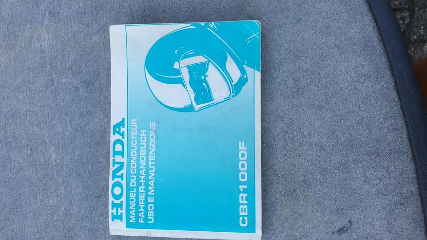 Bild 2: Honda CBR1000F