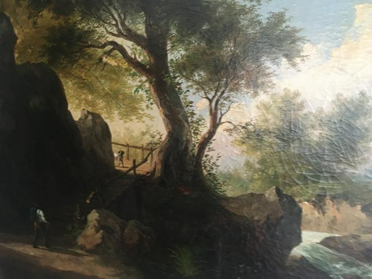 Ölgemälde Kunst Landschaftsmalerei  1941
