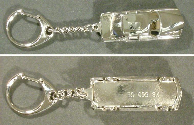 "Schlüsselanhänger Mercedes-Benz W126 ""MB 560 SE"""