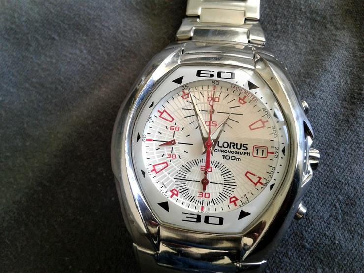 Lorus Herrenchronograph - Herren Armbanduhren - Bild 1