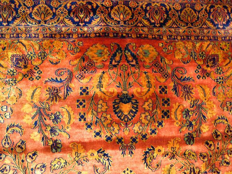 Bild 2: Orientteppich Perserteppich Saruk Ziegler (T038)