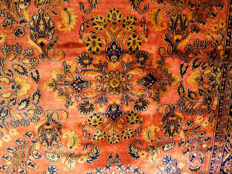 Bild 3: Orientteppich Perserteppich Saruk Ziegler (T038)