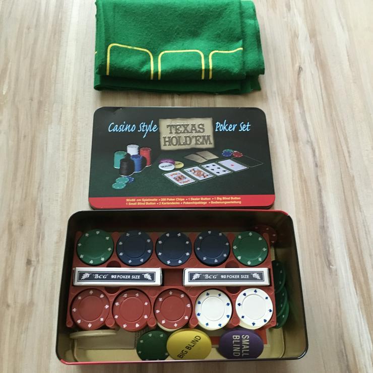 Pokerset wie neu