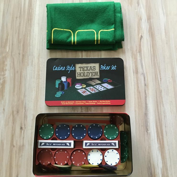 Bild 3: Pokerset wie neu