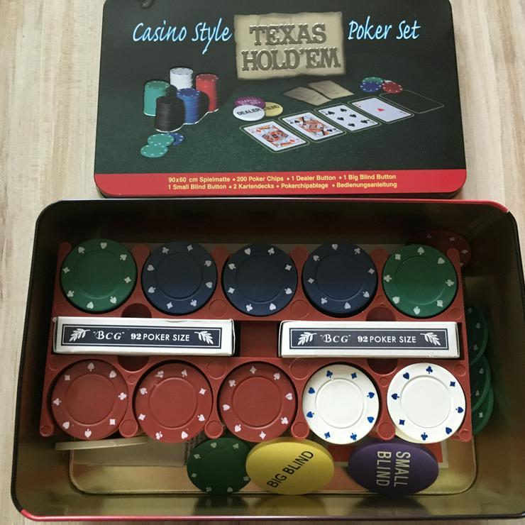 Bild 2: Pokerset wie neu