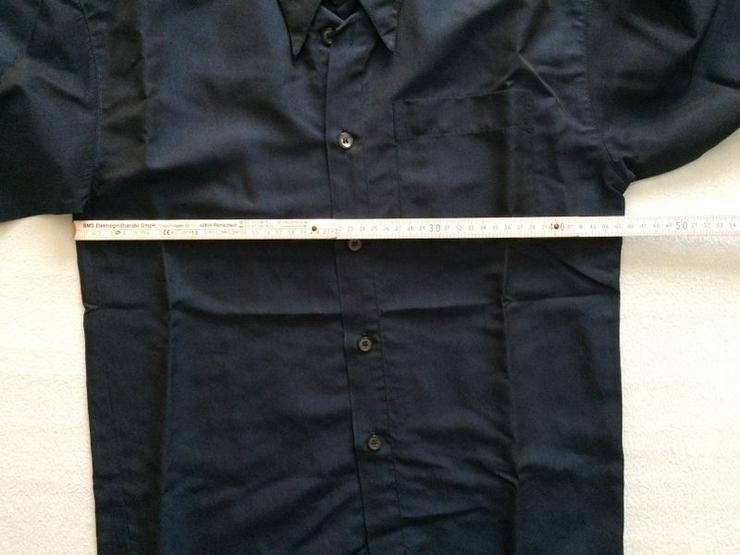 Bild 5: UNGETRAGEN Hemd Gr. 152 d'blau