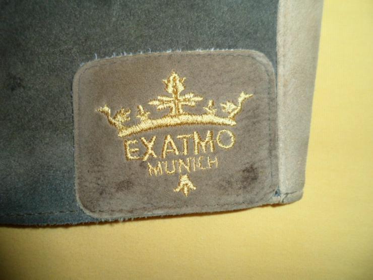 Bild 3: EXATMO Landhaus-Lederweste Unikat aus Lederhose gearbeitet