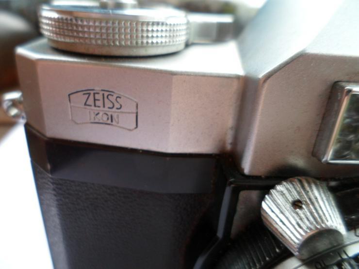 Bild 4: ZEISS IKON Contaflex Synchro-Compur in Ledertasche