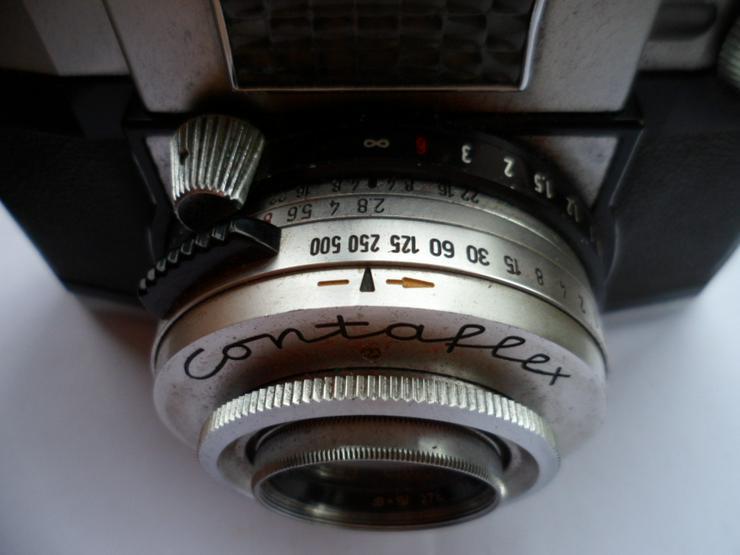 Bild 3: ZEISS IKON Contaflex Synchro-Compur in Ledertasche