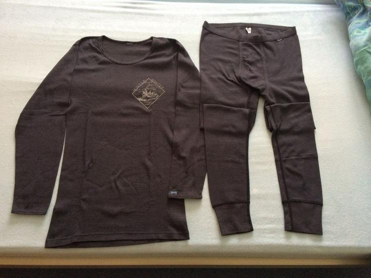 Set (Ski-) Unterhemd/lange Unterhose Gr. M (164/170) - Größen 164-176 - Bild 1