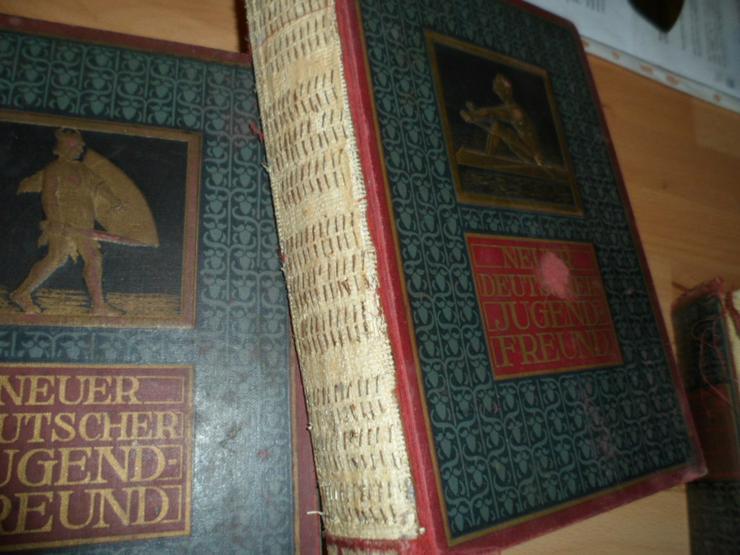 Bild 3: Vier Bände (67-70) NEUER DEUTSCHER JUGENDFREUND