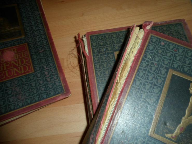 Vier Bände (67-70) NEUER DEUTSCHER JUGENDFREUND - Lexika & Chroniken - Bild 4