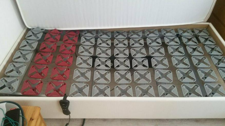 Bild 3: Bett, Komfortbett 1x2 m, elektrisch verstellbar