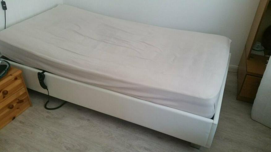 Bett, Komfortbett 1x2 m, elektrisch verstellbar - Betten - Bild 1