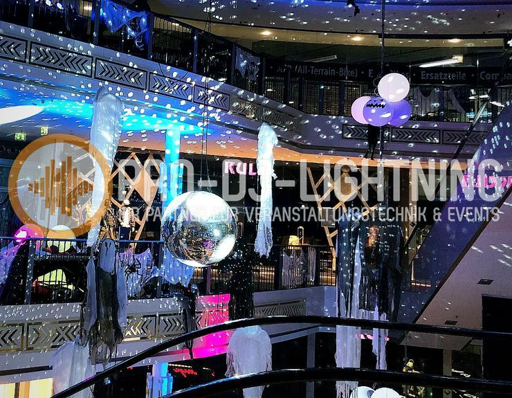 1 Meter Spiegelkugel | 100cm Discokugel | Mirror Ball mieten - Party, Events & Messen - Bild 1