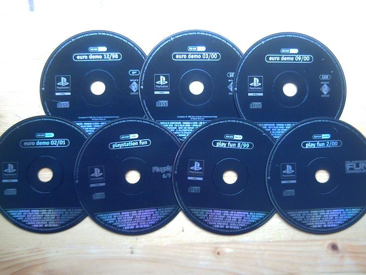 Sony Playstation DEMO CD ( 7 Stück ) aus Zeitschrift, Magazin, Heft
