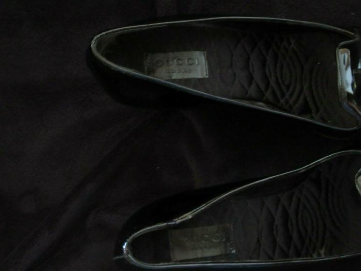 Bild 5:  Schwarze Gucci Schuhe; Größe 38 C