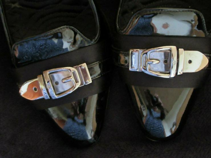 Bild 4:  Schwarze Gucci Schuhe; Größe 38 C