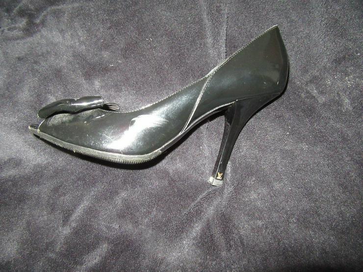 Bild 4:  Schwarze Louis Vuitton Schuhe Paris; Größe 38