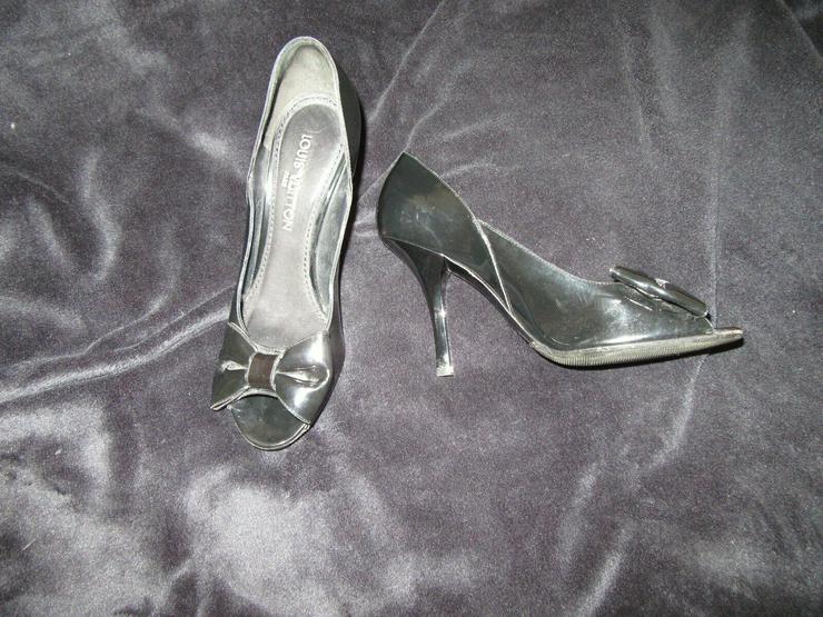 Bild 3:  Schwarze Louis Vuitton Schuhe Paris; Größe 38