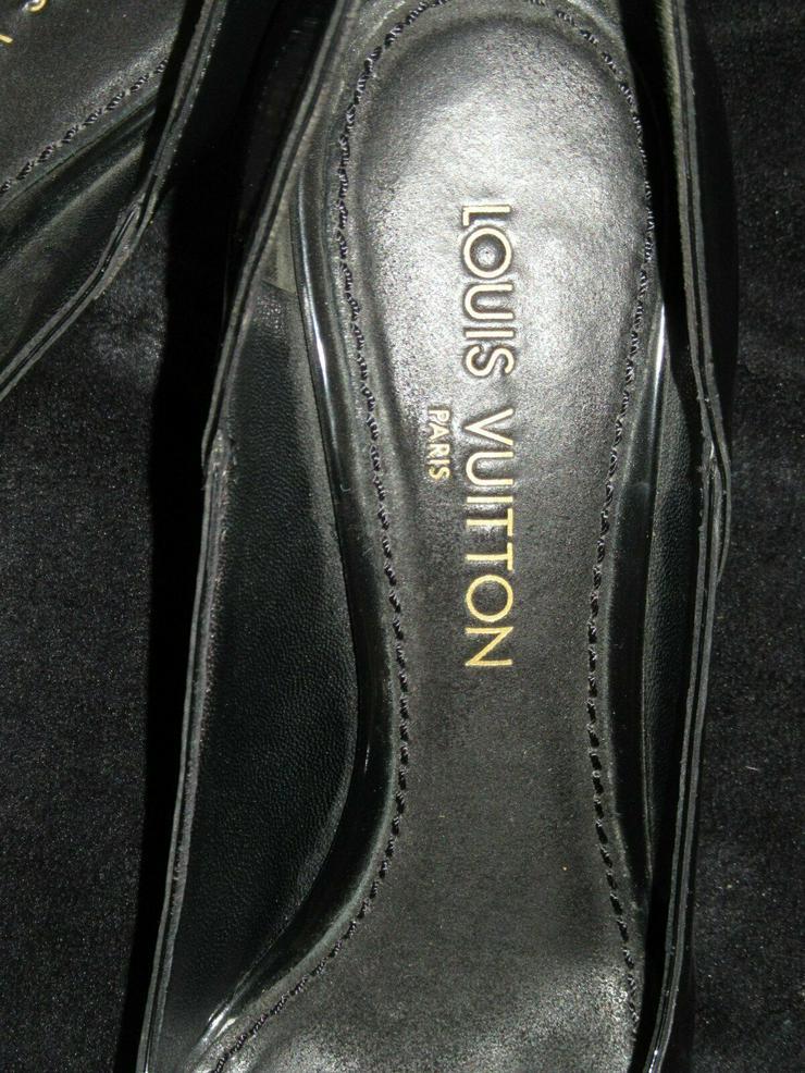 Bild 2:  Schwarze Louis Vuitton Schuhe Paris; Größe 38