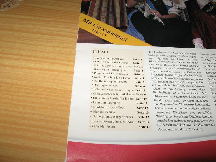 Bild 2: Bierzeitung, Ausgabe 2005, 15 Seiten, und Spezial 2005 Durst auf Urlaub – durchs Ursprungsland des Bieres;