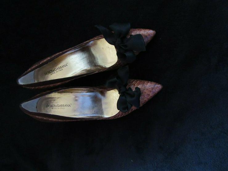Braune Dolce & Gabbana Schuhe; Größe 38