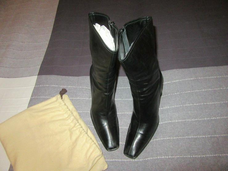 Schwarze Gucci Stiefel, Größe 39; 3x kurz getragen