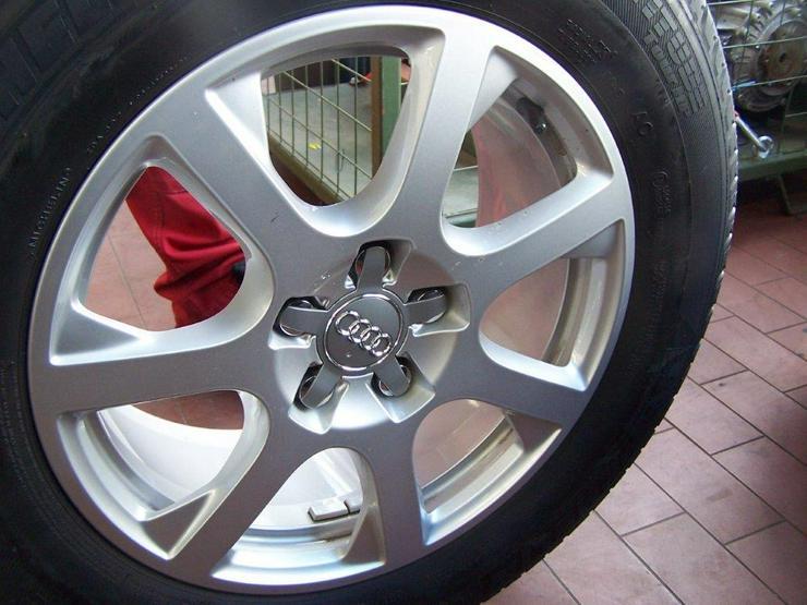 Orginal Audi Q5 Alukompletträdersatz (4Stück)  - Ganzjahres-Kompletträder - Bild 1