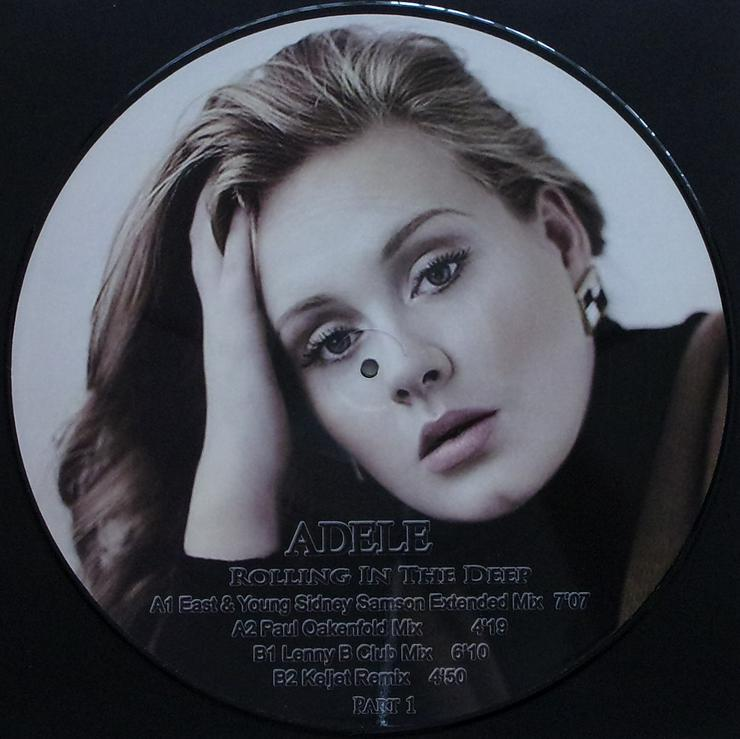 """Bild 2: Picture Maxi 12"""" - Adele - Rolling In The Deep - Part 1 / PICT133"""